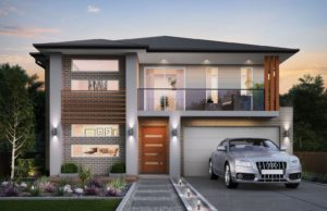 Aspinall Catherine Park double storey house design
