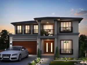 Grenfel Colebee double storey house design